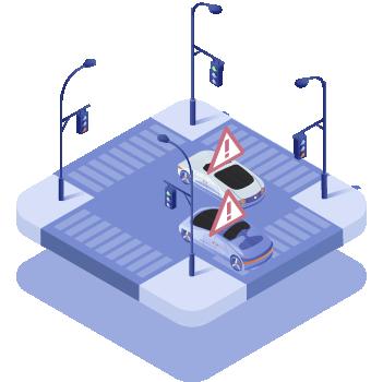 違規偵測, 車牌辨識, 車流分析, violation, detection, AI, License plate, Traffic flow
